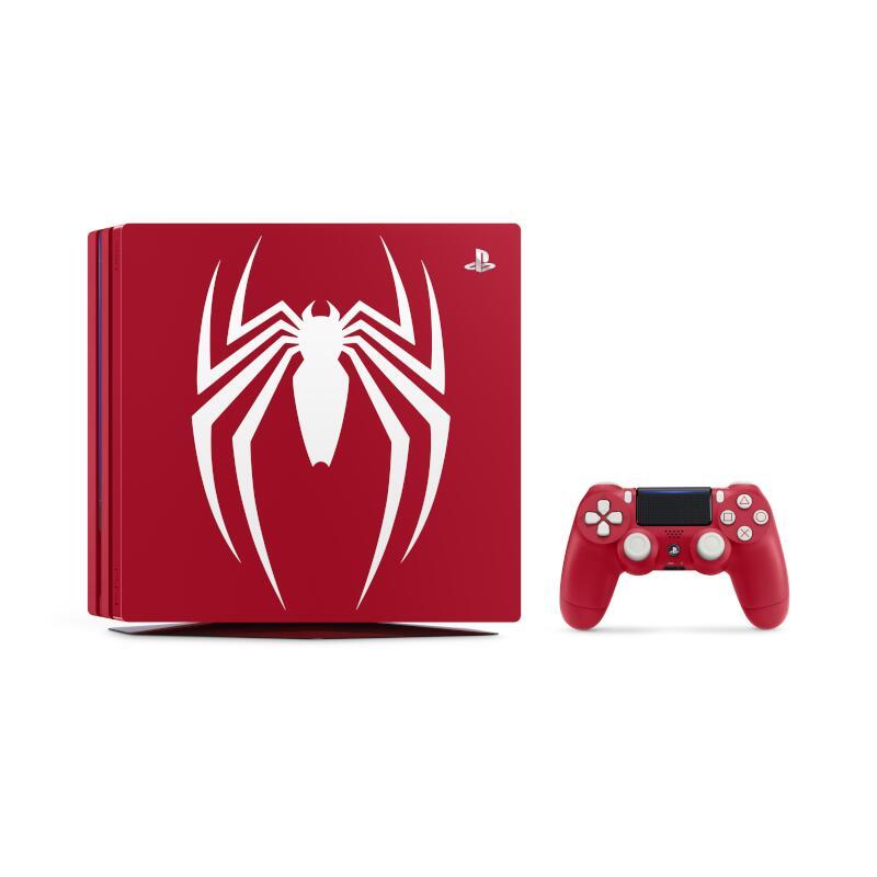 【即納★新品】【ソフトなし】PS4 Pro Marvels Spider-Man Limited Edition【2018年09月07日発売】