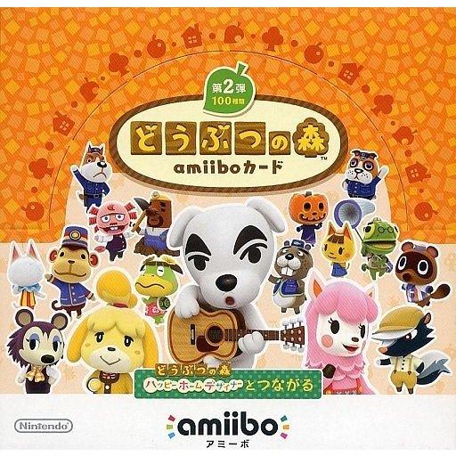 【即納★新品】amiiboカード どうぶつの森 第2弾 (50パックセット)