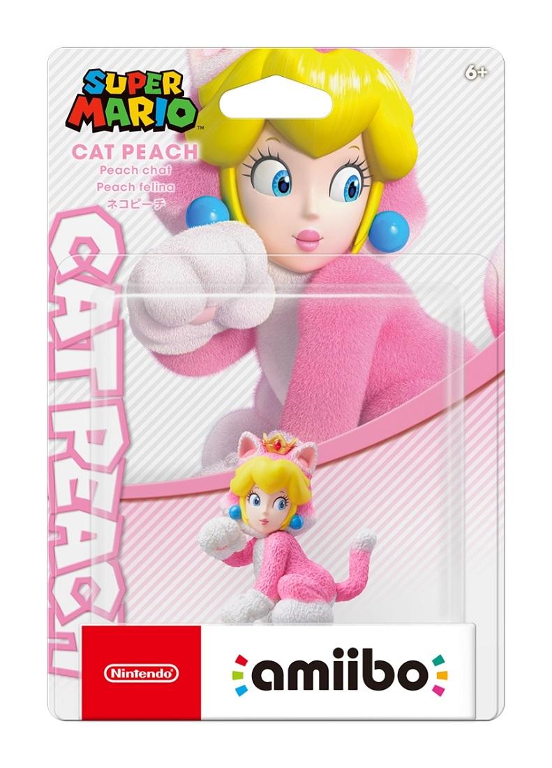 3980円以上送料無料 即納 新品 新色 amiibo スーパーマリオシリーズ アミーボ 人気商品 ネコピーチ