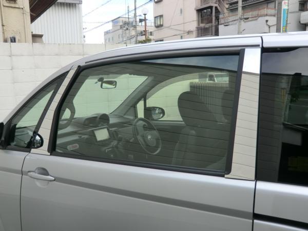 speed1 スペイド 鏡面 ステンレスピラー ●7点● バイザー無用 (バイザー未装着車用)