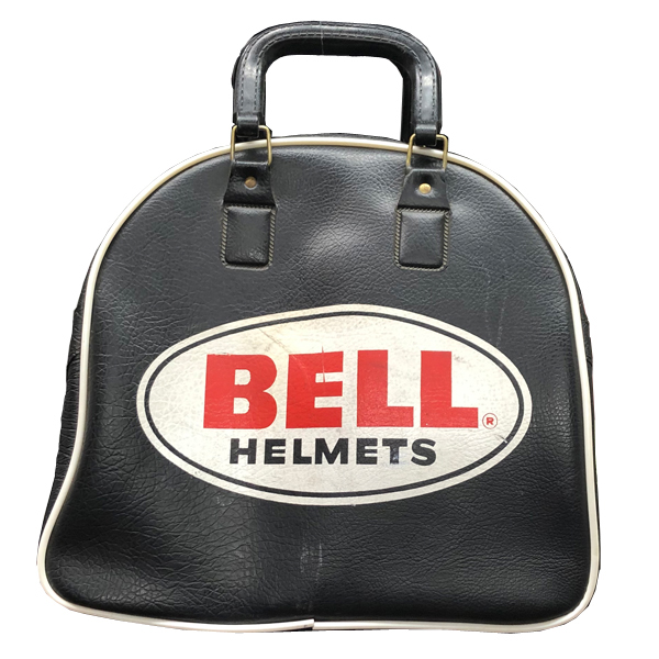 BELL HELMET BAG(ベルヘルメットバッグ)2ndタイプ 【海外直輸入中古品】当時物レースレーサーカバン鞄500txj500-txjrtr-tベルスターbellstarmoto3moto4スーパーマグナムsupermagnum70s70年代アメリカンusaフルフェイス