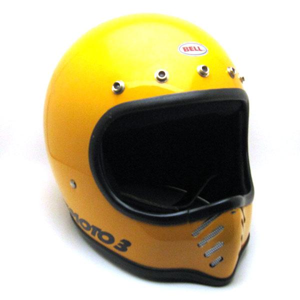 【6月27日値下】箱付 BELL MOTO3 YELLOW 60cm 【海外直輸入中古品】フルフェイスヘルメットアメリカンオフロードモトクロスvmxダートトラッカートレールスクランブラーエンデューロベルモト3イエロー黄色Lサイズ