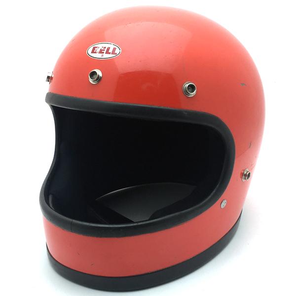 BELL STAR 120 ORANGE 58cm 【海外直輸入中古品】フルフェイスヘルメットアメリカン族ヘルオンロードベルスター120オレンジ橙色Mサイズ