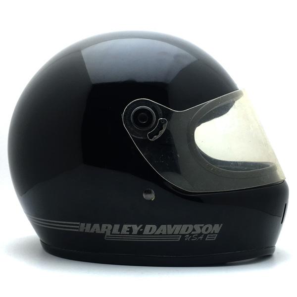 純正シールド付 BELL STAR ltd.2 HARLEY-DAVIDSON BLACK 59cm 【海外直輸入中古品】フルフェイスヘルメットアメリカン族ヘルオンロードベルスターリミテッドハーレーダビットソンブラック黒色M~Lサイズ