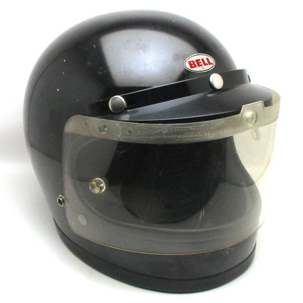 シールド付 BELL STAR 120 BLACK 58cm 【海外直輸入中古品】フルフェイスヘルメットアメリカン族ヘルオンロードベルスター120ブラック黒色Mサイズ