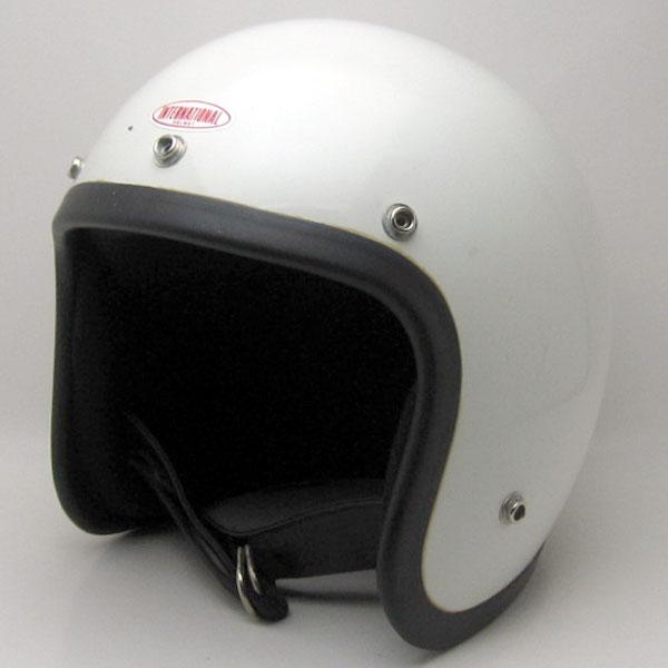 BUCO IC400 初期型 WHITE 62cm ビンテージスモールジェットヘルメットオープンフェイスbellベルブコshmタチバナ立花バイクバイカーUSAアメリカンハーレーイージーライダーホンダヤマハMOMO