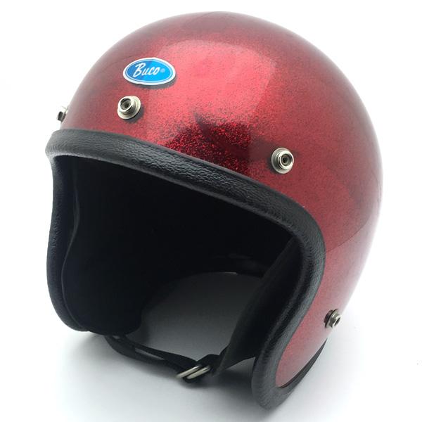 Dead Stock 新品 BUCO ENDURO METALFLAKE RED 57cm デッドストック未使用品nosスモールジェットヘルメットオープンフェイスアメリカンブコエンデューロレッド赤色Mサイズ