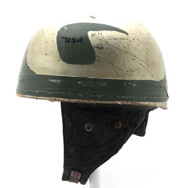 60's イギリス製 CROMWELL 56cm 【海外直輸入中古品】スモールジェットヘルメットオープンフェイスヨーロピアンクロムウェルSサイズ