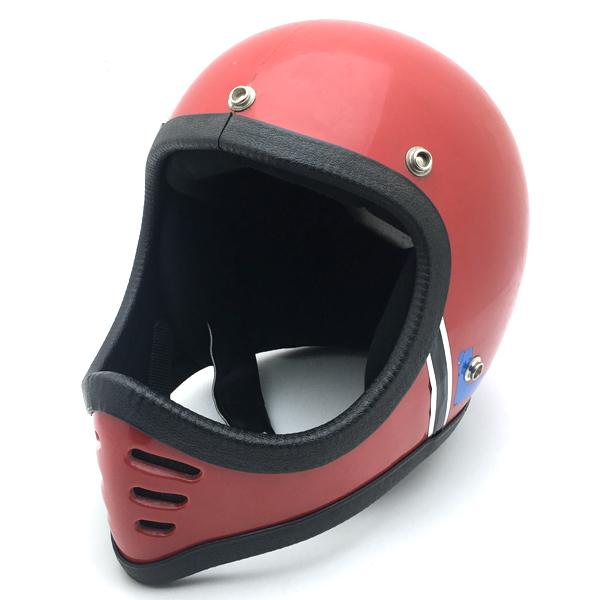 GRIFFIN MOTO-X RED 54cm 【海外直輸入中古品】フルフェイスヘルメットオフロードモトクロスvmxダートトラッカートレールスクランブラーエンデューログリフィンレッド赤色XSサイズ