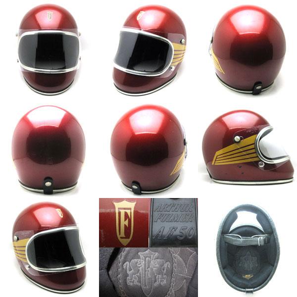 跟从BHV希尔德的ARTHUR FULMER AF50 FALCON RED 59cm复古全部的脸安全帽bell铃buco buko shm tachibana立花SHOEI表演鳐鱼