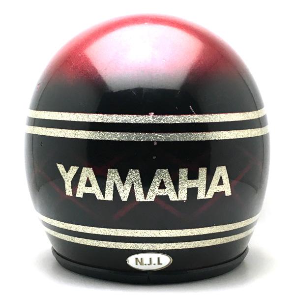 YAMAHA SNAKE RED 58cm 【海外直輸入中古品】スモールジェットヘルメットオープンフェイスアメリカンヤマハレッド赤色スネーク蛇ヘビ柄Mサイズ