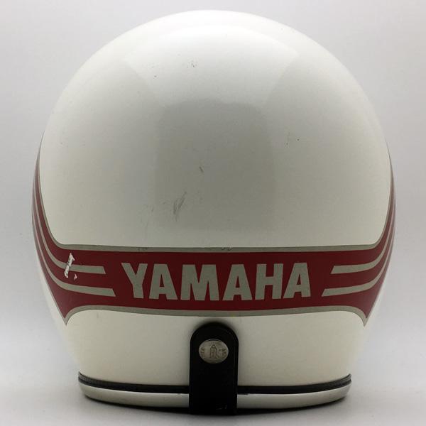 ARTHUR FULMER AF40 76's YAMAHA WHITE 60cm スモールジェットヘルメットオープンフェイスアメリカンアーサーフルマーホワイト白色Lサイズヤマハ