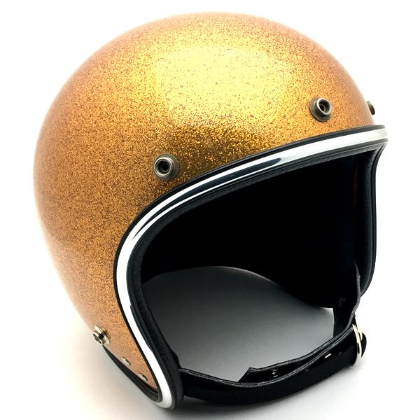 ARTHUR FULMER AF20 GOLD METALFLAKE 62cm 【海外直輸入中古品】スモールジェットヘルメットオープンフェイスアメリカンアーサーフルマーゴールド金色ラメメタルフレークXLサイズキムタク着用グランメゾン東京