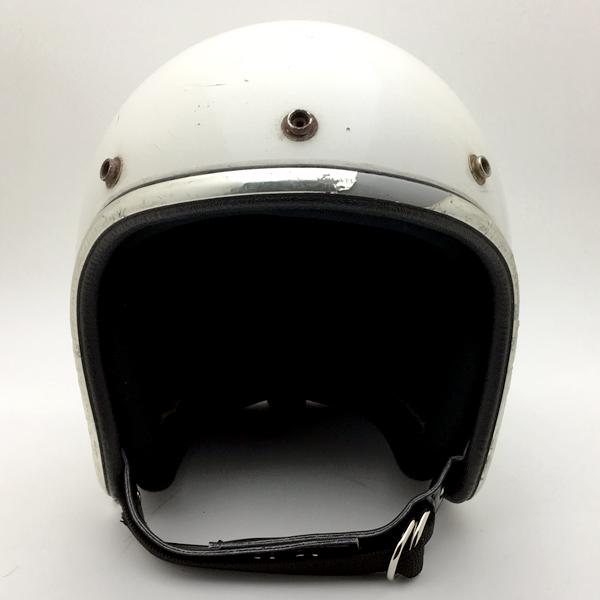 ARTHUR FULMER AF40 WHITE 58cm 【海外直輸入中古品】スモールジェットヘルメットオープンフェイスアメリカンアーサーフルマーホワイト白色Mサイズ