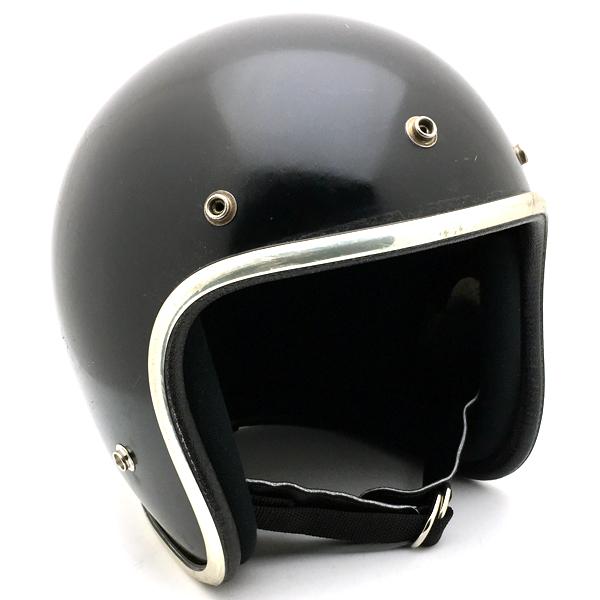 ARTHUR FULMER AF40 BLACK 60cm 【海外直輸入中古品】スモールジェットヘルメットオープンフェイスアメリカンアーサーフルマーブラック黒色Lサイズ