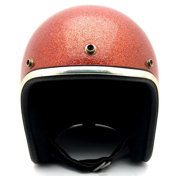 ARTHUR FULMER AF40 ORANGE METALFLAKE 60cm 【海外直輸入中古品】スモールジェットヘルメットオープンフェイスアメリカンアーサーフルマーオレンジ橙色ラメメタルフレークLサイズ
