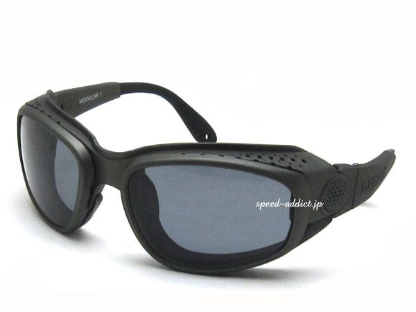 nannini Modular 1 Fast(ナンニーニモジュラー1ファスト)GUNMETAL ガンメタルsmokeスモークレンズuvカット紫外線カットバイク用ゴーグルbiker shadeバイカーシェードメガネ眼鏡めがねサングラススポーツメンズレディース男性用女性用