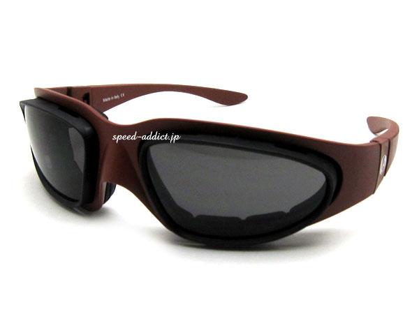 baruffaldi WIND TINI GOGGLE(バルファルディウインドタイニーゴーグル)RED × SMOKE/CLEAR 赤レッドスモークレンズイエローレンズクリアレンズbiker shadeバイカーシェードバイク用サングラスメガネ眼鏡めがねuvカット紫外線カット