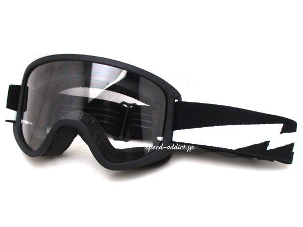 Biltwell MOTO 2.0 GOGGLE(ビルトウェルモト2.0ゴーグル)Bolts サンダーボルト雷カミナリイナズマ稲妻vmxビンテージモトクロスオフロードバイクオフ車トラッカーエンデューロバイカーシェードオーバーグラスメガネ対応眼鏡対応usa60s70s