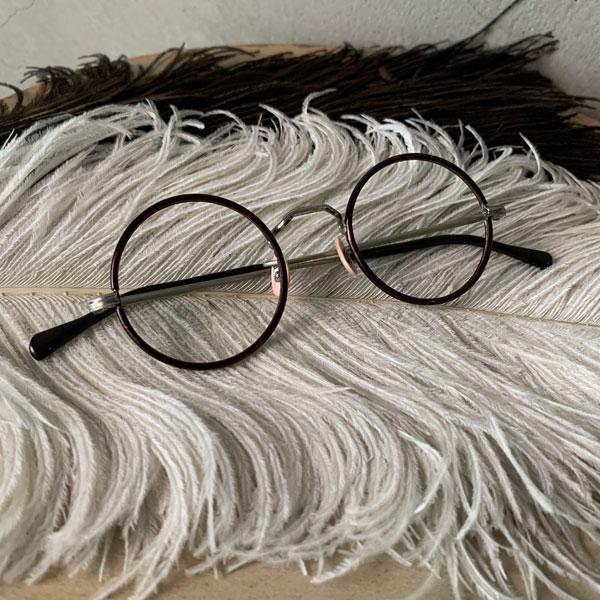30's FRANCE Tortoise/Metal Lloyd Frame(ロイド メガネフレーム セル巻き) ヴィンテージ眼鏡ビンテージめがねトートイズべっ甲デミカラー鼈甲べっこう丸メガネ丸眼鏡丸型ラウンドヴィンテージビンテージメタルフレームレトロフランス