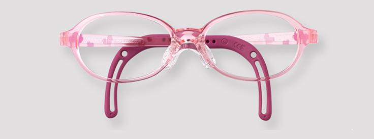 【度付きトマトグラッシーズ TKAC14】キッズ 子供 子供用 チャイルド メガネ 眼鏡 度付 度付き 度入 度入り レンズ フレーム 近視 遠視 乱視 弱視 眼科 処方箋 金属 セル