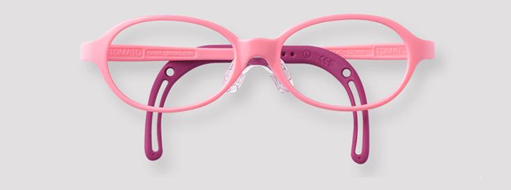 【トマトグラッシーズ TKAC19 】キッズ 子供 子供用 チャイルド メガネ 眼鏡 度付 度付き 度入 度入り レンズ フレーム 近視 遠視 乱視 弱視 眼科 処方箋 金属 セル