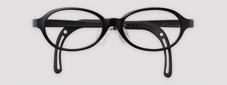 【度付きトマトグラッシーズ TKAC25】キッズ 子供 子供用 チャイルド メガネ 眼鏡 度付 度付き 度入 度入り レンズ フレーム 近視 遠視 乱視 弱視 眼科 処方箋 金属 セル