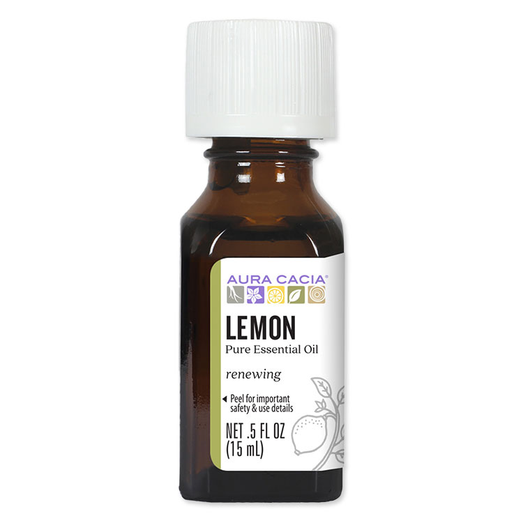 Aura 高級 大人気 Cacia オーラカシアレモン 100%ピュア エッセンシャルオイル 精油 15ml