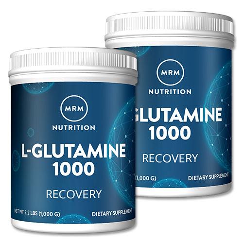 ● グルタミンパウダー 2個セット L-グルタミン パウダー 1000g/サプリメント/サプリ/アミノ酸配合/ダイエット/トレーニング/燃焼