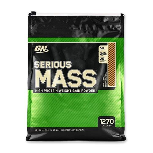 シリアスマス プロテインパウダー チョコレートピーナッツバター 5.44kg Optimum Nutrition(オプティマムニュートリション)高カロリー/オプチマム/ウェイトゲイナー/ビタミン/ミネラル
