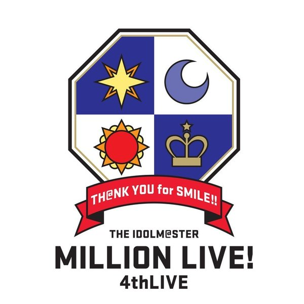 "【新品】【ポスター付属】THE IDOLM@STER MILLION LIVE! 4thLIVE TH@NK YOU for SMILE! LIVE Blu-ray ""COMPLETE THE@TER""(B2布ポスター付き)【Blu-ray】"