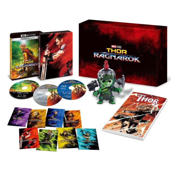 【新品】2018年3月7日発売予定!マイティ・ソー バトルロイヤル 4K UHD MovieNEX プレミアムBOX Blu-ray