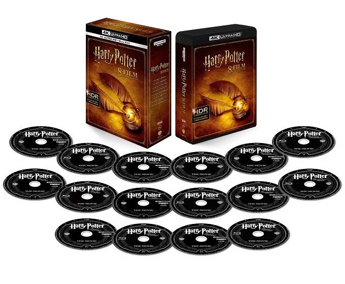 【新品】【即納】ハリー・ポッター 8フィルムコレクション 4K ULTRA HD&ブルーレイセット (16枚組) [Blu-ray] ダニエル・ラドクリフ