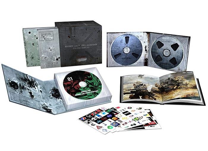 【新品】【即納】ARMORED CORE ORIGINAL SOUNDTRACK 20th ANNIVERSARY BOX Soundtrack,CD サントラ アーマードコア