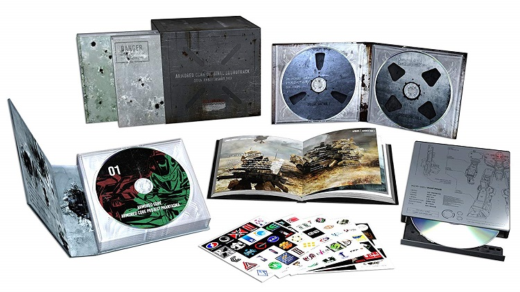 【新品】【即納】数量限定 ARMORED CORE ORIGINAL SOUNDTRACK 20th ANNIVERSARY BOX LIMITED EDITION Soundtrack, CD, Limited Edition サントラ アーマードコア