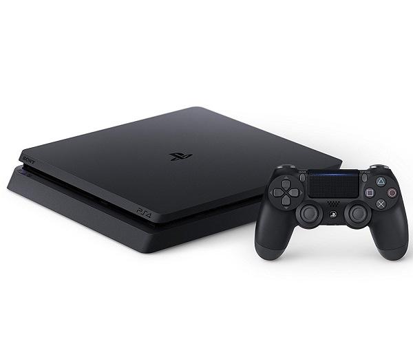 【新品】【即納】PlayStation 4 ジェット・ブラック 500GB (CUH-2100AB01)