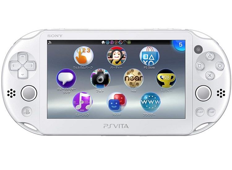 【新品】【即納】PlayStation Vita Wi-Fiモデル ホワイト (PCH-2000ZA12) PS ヴィータ 本体 ソニー