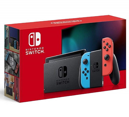 【新品】入荷次第発送 Nintendo Switch 本体 (ニンテンドースイッチ) Joy-Con(L) ネオンブルー/(R) ネオンレッド (バッテリー持続時間が長くなったモデル) 任天堂 本体 ゲーム機