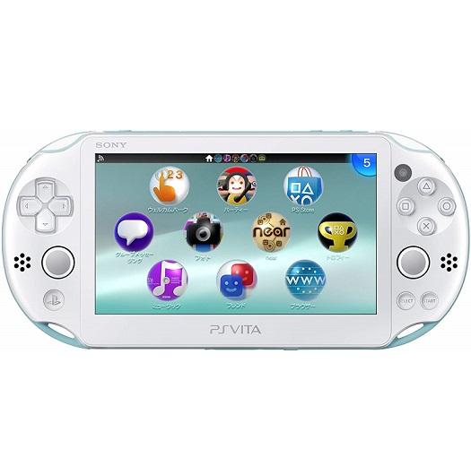 【新品】【即納】PlayStation Vita Wi-Fiモデル ライトブルー/ホワイト (PCH-2000ZA14) 本体 ソニー