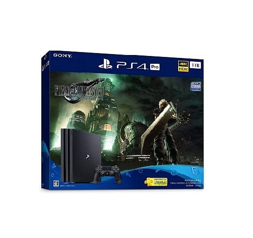 【新品】1週間以内発送 PlayStation 4 Pro FINAL FANTASY VII REMAKE Pack(HDD:1TB) ファイナルファンタジー7 PS4