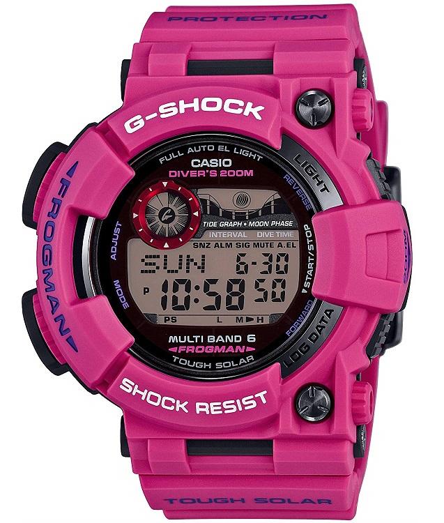 【新品】【即納】CASIO 腕時計 G-SHOCK MEN IN SUNRISE PURPLE FROGMAN 世界6局対応電波ソーラー GWF-1000SR-4JF メンズ Gショック