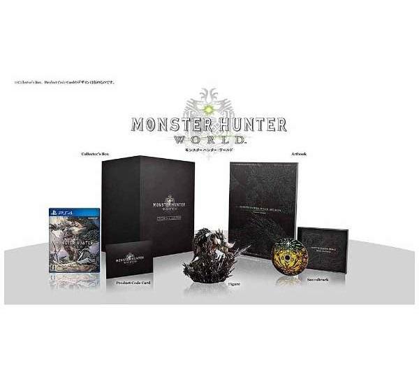 【新品】【送料込】【即納】PS4 MONSTER HUNTER:WORLD COLLECTOR'S EDITION モンスターハンター:ワールド コレクターズ・エディション モンハン PS4 ゲームソフト カプコン 数量限定