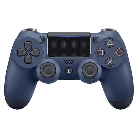 新品 本日の目玉 正規品 今だけスーパーセール限定 即納 ワイヤレスコントローラー DUALSHOCK ブルー CUH-ZCT2J22 PS4 ミッドナイト 4