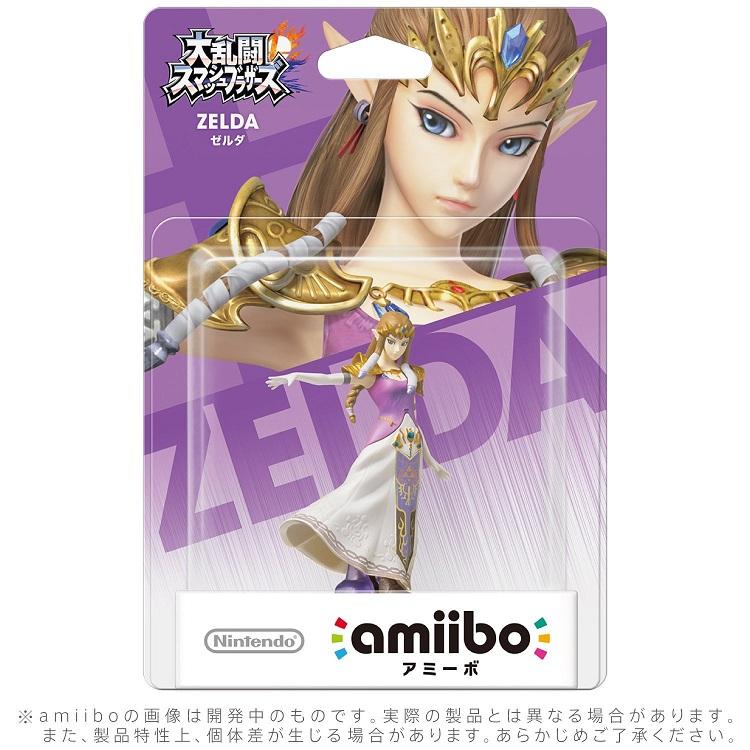【新品】2018年7月1日入荷予定!amiibo ゼルダ(大乱闘スマッシュブラザーズシリーズ)