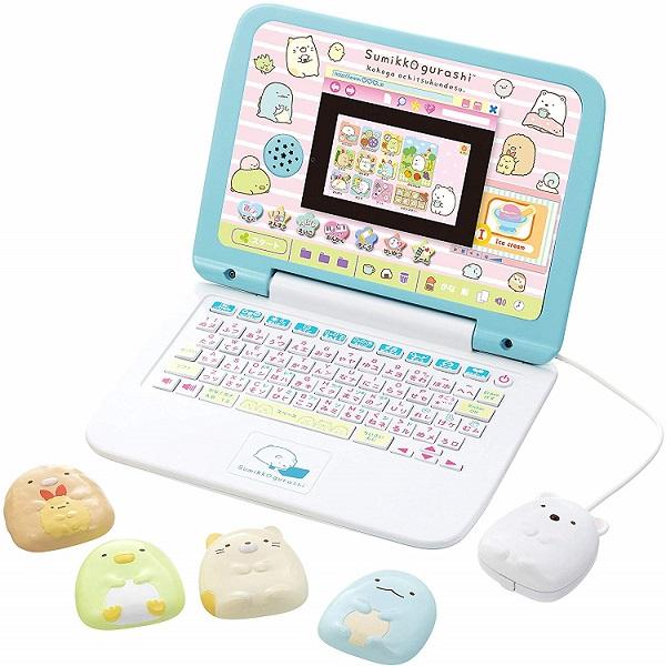 【新品】入荷次第発送 マウスできせかえ! すみっコぐらしパソコン 子供 おもちゃ 遊び 勉強