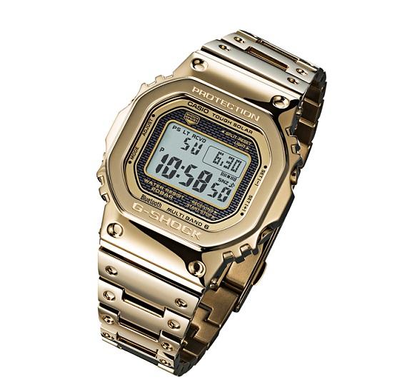 【新品】【即納】CASIO G-SHOCK 35周年記念 限定モデル タフソーラー 電波時計 ゴールド デジタル 腕時計 メンズ 35th Anniversary Limited Edition GMW-B5000TFG-9JR