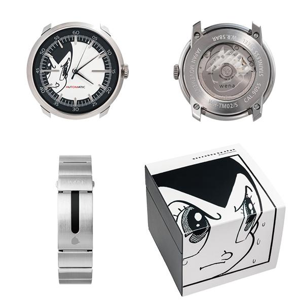 【新品】入荷次第発送予定!wena tezuka90th WNW-SB12A ATOM Edition アトムエディション 腕時計 スマートウォッチ