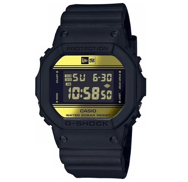 【新品】【即納】ジーショック Gショック 35周年記念 ニューエラ コラボ 限定モデル 5600 デジタル DW-5600NE-1JR 腕時計 メンズ ウォッチ