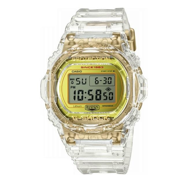 【新品】【即納】カシオ Gショック CASIO G-SHOCK 35周年記念モデル グレイシアゴールド デジタル 腕時計 DW-5735E-7JR メンズ
