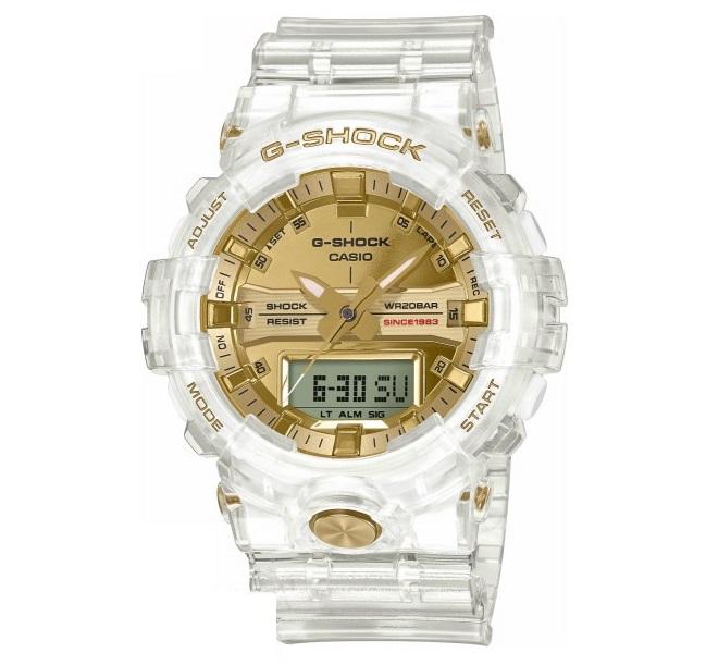 【新品】【即納】カシオ Gショック CASIO G-SHOCK 35周年記念モデル グレイシアゴールド 腕時計 GA-835E-7AJR メンズ